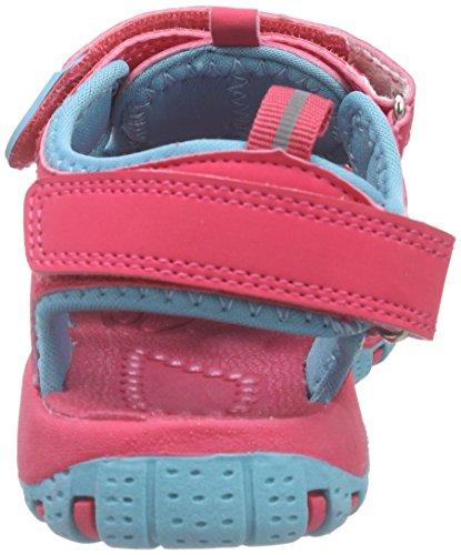 Killtec  Marimba Jr, Sandales Bout ouvert mixte enfant Rose - Pink (pink/ eisblau / 00914)