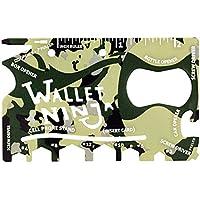 Camouflage Wallet Ninja 18 in 1 Multi-purpose