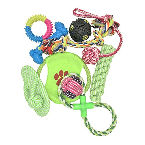 dog-toys-10-pack-gift-set-variety-puppy-toys-for-small-to-medium-dogs-chewing-tugging-playing-colorf