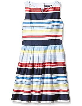 Tommy Hilfiger Mädchen Kleid Isle Stripe Dress Slvls