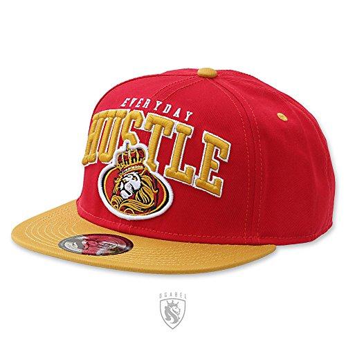 OG Abel OGABEL Men's San Francisco Hustle Snapback Hat Red