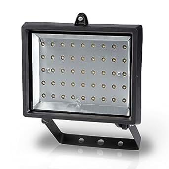 LED Flutlichtlampe, LED Außenleuchte 45 LED, 3 Watt - POWLI210