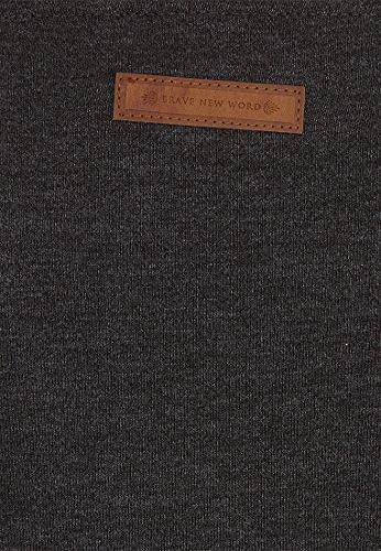 Naketano Female Hoody Ankerbraut V Anthracite Melange