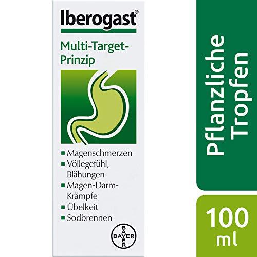 Iberogast das Arzneimittel bei funktionellen und motilitätsbedingten Magen-Darm-Erkrankungen, 100 ml, 1 Stück