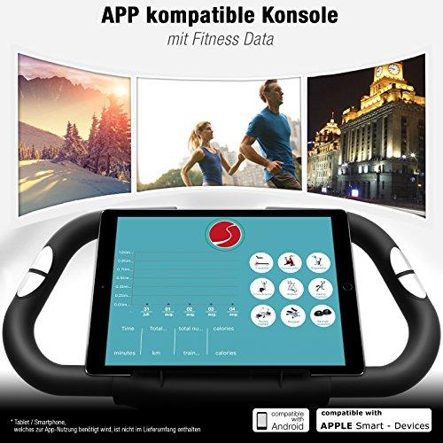 Sportstech X150 4in1 Heimtrainer mit Smartphone APP - 4