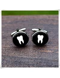 Leonid Meteor Gemelos de Dientes de Ducha de Dentista Gemelos Dentales, Puro hecho a mano, un exquisito regalo.