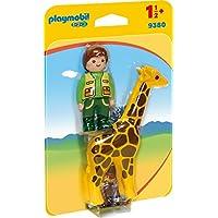 Playmobil 9380 1.2.3 Zookeeper with Giraffe