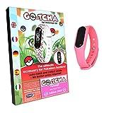 Pulsera táctil LED Go-Tcha para Pokémon Go Versión 2018 Edición Pumeluff rosa (alternativa para...