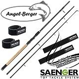 Sänger Specialist Allround 3,00m 30-80g Allroundrute mit Angel Berger Rutenband
