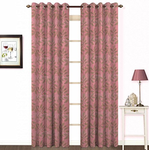 Skipper Eyelet Cotton Long Door Curtain - 44