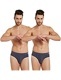 FCUK Men's Cotton Brief (Pack of 2)