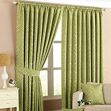 Green Curtains amazon green curtains : Riva Paoletti