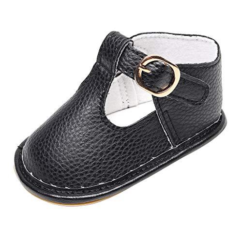 YGbuy Zapatos De Bebé, Primeros Pasos para Niño Niñas Zapatillas de bebé Antideslizante de Encaje...