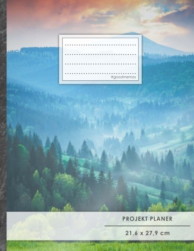 PROJEKTPLANER A4 • 70+ Seiten, Softcover, Register,