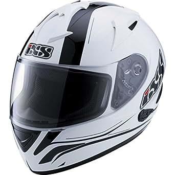 IXS - Casque - HX275 NIGHT - Couleur : Blanc/Noir - Taille : XS