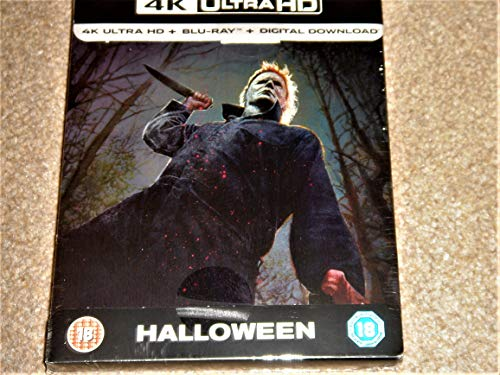 Halloween (2018) 4K Ultra HD Limited Edition Steelbook / Import / Includes Region Free Blu Ray