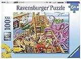 Ravensburger 10939 - Abenteuer auf dem Piratenschiff, 100 Teile Puzzle