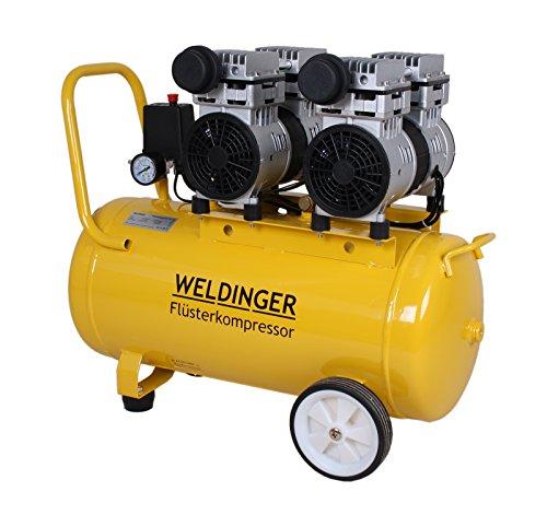WELDINGER Flüsterkompressor FK120 ölfrei 50 Liter