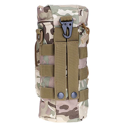 ?HuntGold Outdoor Wandern Reisen Taktisch Militärisch Reißverschluss Wasserflasche Tragen Beutel Tasche CP Camouflage