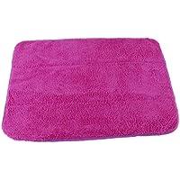 F Fityle Premium Paños de Microfibra para Limpiar Zapatos de Hielo, Cubierta de Botas de Hombres y Mujeres - Púrpura
