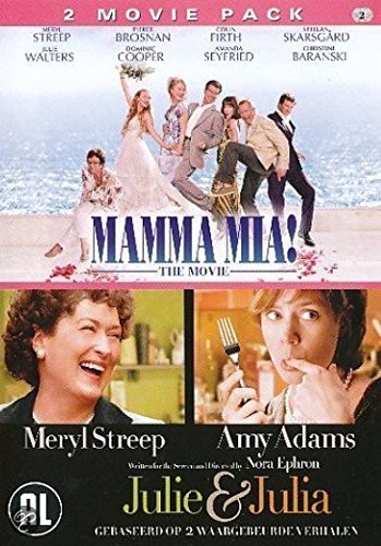 Mamma Mia + Julie & Julia by Meryl Streep
