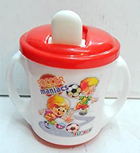 Flo-Rite Jenny Ample Cup Baby Feeding Chipper (Baby Drinking Cup) (White)
