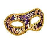 YAZILIND Moda máscara de Estilo de Jazz de Franela de Ojos Escudo de...