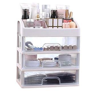 Kosmetik-Aufbewahrungsbox, mehrschichtig, mit Schubladen (28 x 20 x 32 cm)