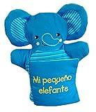 Libro marioneta: Mi pequeño elefante