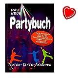 Das neue Partybuch - Songbook von Dietrich Kessler mit bunter herzförmiger Notenklammer - Aus Inhalt: Adios Amor, La Bamba, Volare, Bahama Mama ... uvm bei Amazon kaufen