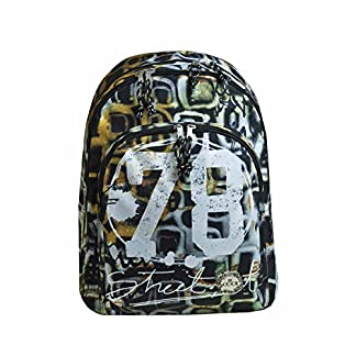 51oQvkhIFXL. SS324  - Busquets Mochila Escolar Doble Street Art by