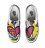 Vans Authentic Unisex CUSTOM Sneakers, Handwerkliches Produkt Multicolor - TG40,5