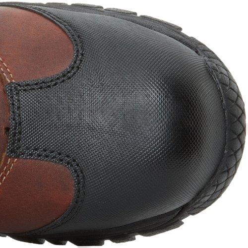 Dr.Martens R14116 Men's OUTL et ST femmes bottes Noir Teak Industrial Trailblazer