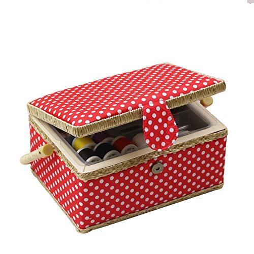 D & D caja costura cesta organizador accesorios