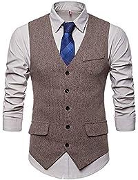 Blazer Estampado para Hombre Trajes de Chaqueta de Boda de Fiesta Elegante  Slim Fit Otoño Invierno 23d1e0b236e
