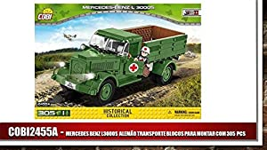 COBI - MB L3000 4 x 2 3.1 Ton Truck, camión, Color Verde (2455)