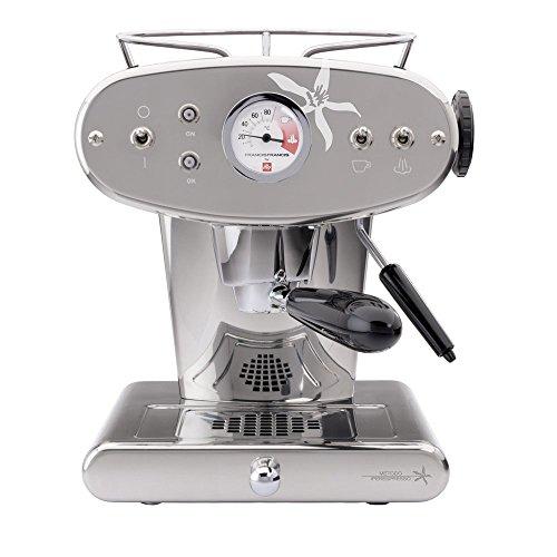 francis-francis-6582-macchina-da-caffe-espresso-x1-iperespresso-10-litri-acciaio