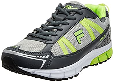 Fila Men's Electro Lite Grey and Green  Running Shoes -11 UK/India (45 EU)
