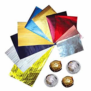 divena Chocolate wrapping paper aluminum foil paper/candy paper Multi colour Wrappers