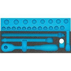 HAZET Weichschaum-Einlage leer (für HAZET Steckschlüssel-Sätze 900 und 900Z) 163-342L