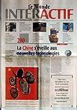 Telecharger Livres MONDE INTERACTIF LE du 31 05 2000 PASCAL NEGRE PDG D UNIVERSAL MUSIC FRANCE ATTEND LA NAISSANCE D UNE GENERATION DE CREATEURS NOURRIS D INTERNET ENTREPRISES NEE D UNE FUSION D UN MONTANT DE 280 MILLIARDS DE DOLLARS AOL TIME WARNER VEUT IMPOSER SA MARQUE SUR LA GALAXIE INTERNET TECHNIQUES LES 2E RENCONTRES DE LA REALITE VIRTUELLE A LAVAL ONT SOULIGNE LES PROGRES MENES DANS LE DOMAINE DE LA CREATION DE VIE ARTIFICIELLE METIERS SOUCIEUX DE L ERGONOMIE DES LOGICIELS LE COGNITI (PDF,EPUB,MOBI) gratuits en Francaise