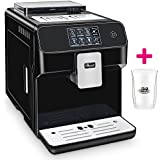 Kaffeevollautomat ONE-TOUCH✔ Café Bonitas✔ King-Star Black✔ Touchscreen✔ Dualboiler✔ 19 Bar✔ Milchschaum-System✔ Vorbrühsystem✔ Latte Macchiato✔ Kaffee✔ Espresso✔ Cappuccino✔ heißes Wasser✔ Milchschaum✔ Kaffeeautomat✔ Kaffeemaschine✔