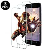 Laifeo Panzerglas Schutzfolie für iPhone 7 Plus/iPhone 8 Plus, Premium Displayschutzfolie,9H Härte, Anti-Kratzen, Anti-Öl, Anti-Bläschen Ultradünn Panzerglasfolie[3 Stück]