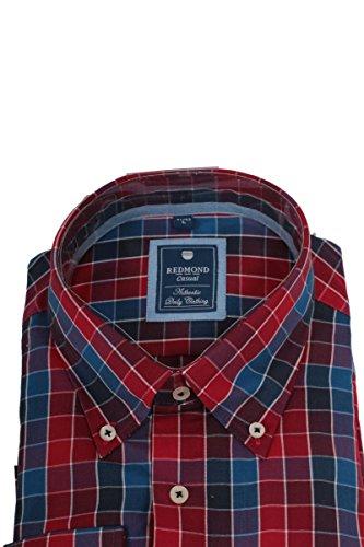 Redmond - Chemise casual - Avec boutons - À Carreaux - Homme Mehrfarbig