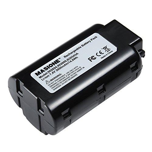 Masione Li-Ion Batterie de remplacement Batterie 2200mAh pour Paslode 902600, 902654, cf325l, im250ali, b20543