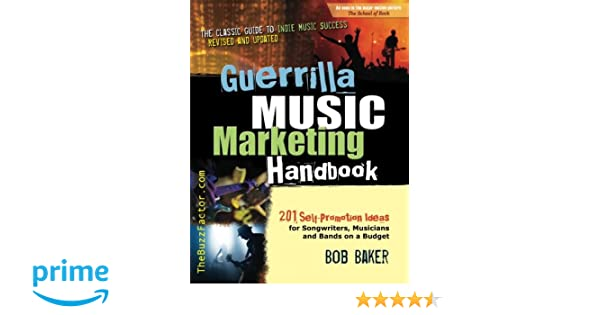 Guerrilla Music Marketing Handbook Pdf