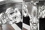 DuNord Design Konsole im Retro Barock Design VENEZIA silber - 6