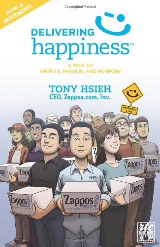 Delivering Happiness : A Path to Profits, Passion, and Purpose; A Round Table Comic par Tony Hsieh