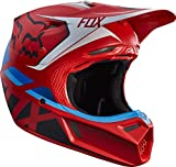 Casque cross FOX V3 Seca Rouge 2017