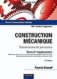 Construction mécanique - Transmission de puissance